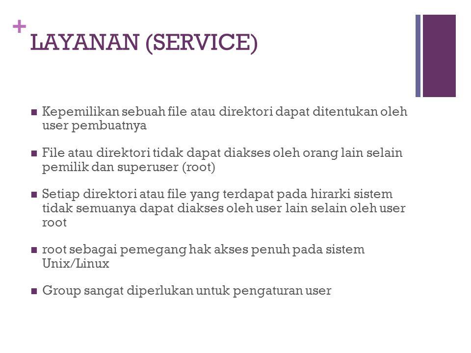 + Aplikasi Layanan - FTP Teknik Informatika Universitas Bunda Mulia Jakarta Chandra Hermawan