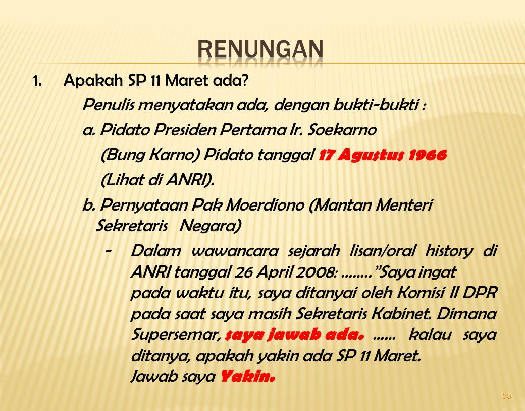 Supersemar dari Dr. Nurinwa Ki. S. Hendrowinoto (Ketua Akademi Kebangsaan)