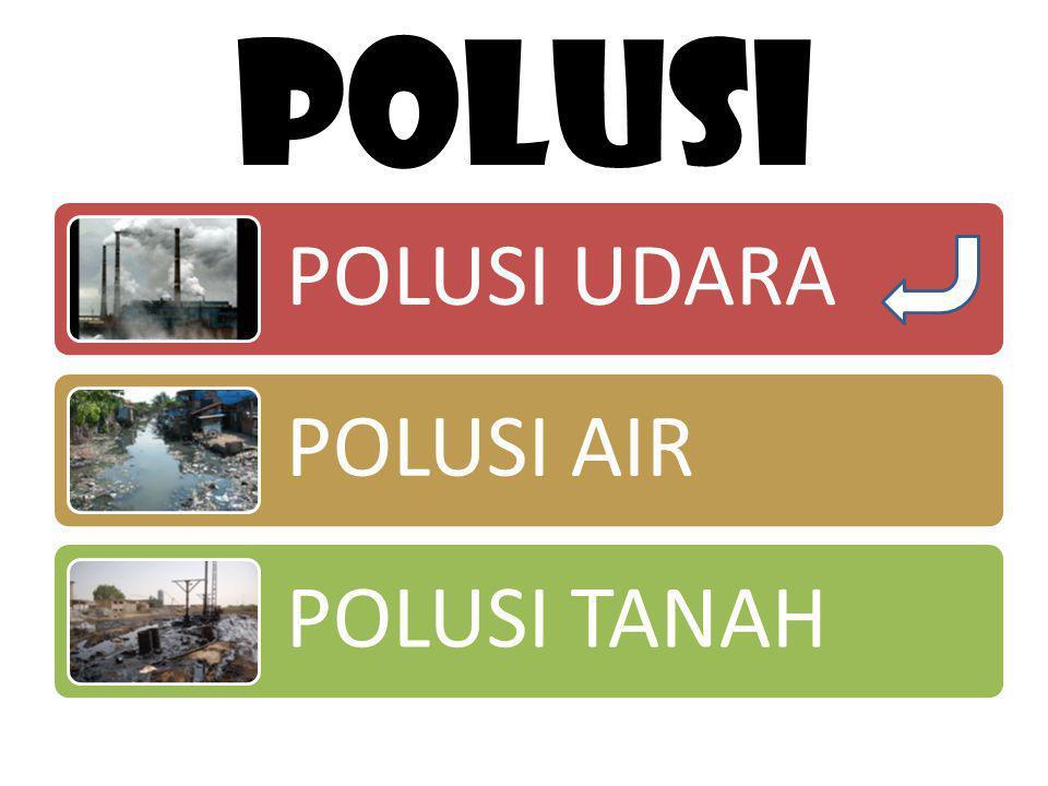 Polutan yang sering diukur adalah sbb: a.