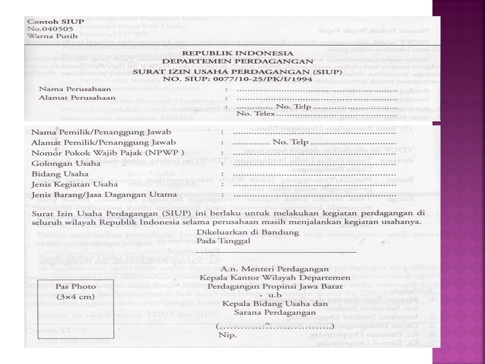  Adalah suatu sarana dalam administrasi perpajakan yang digunakan sebagai tanda pengenal diri atau identitas wajib pajak  Syarat-syarat memperoleh NPWP  Fotocopi akta pendirian tanah  Fotocopi SITU  Fotocopi KTP  Surat kuasa (bagi yang diwakilkan)