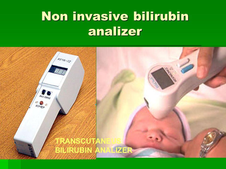 Non invasive bilirubin analizer TRANSCUTANEUS BILIRUBIN ANALIZER