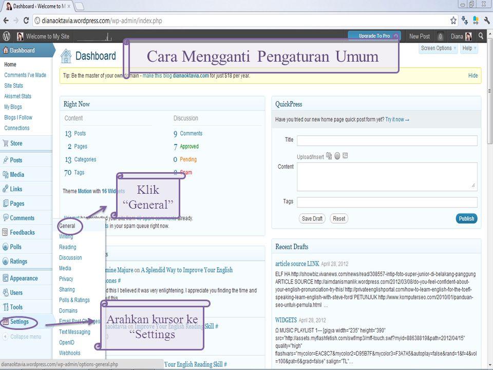 Utk mengaktifkan tema Utk melihat seperti apa tampilan blog kita ketika menggunakan tema ini Utk melihat penjelasan tema