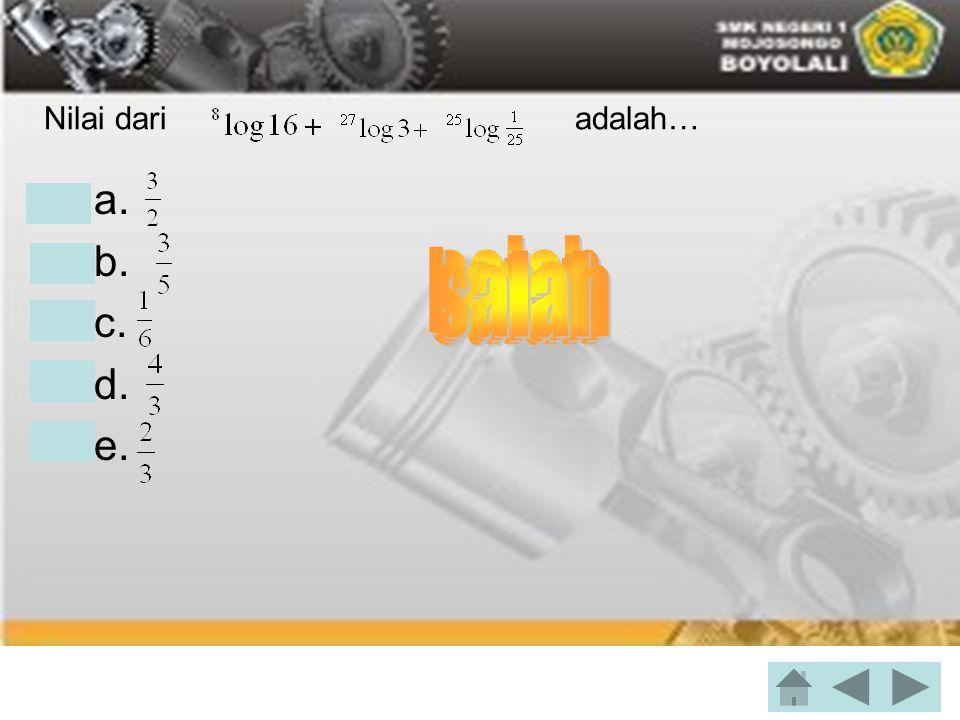 Turunan dari y = 4 ( 4x + 2) 3, adalah....•a. 48 ( 4x + 2 ) 4 •b.