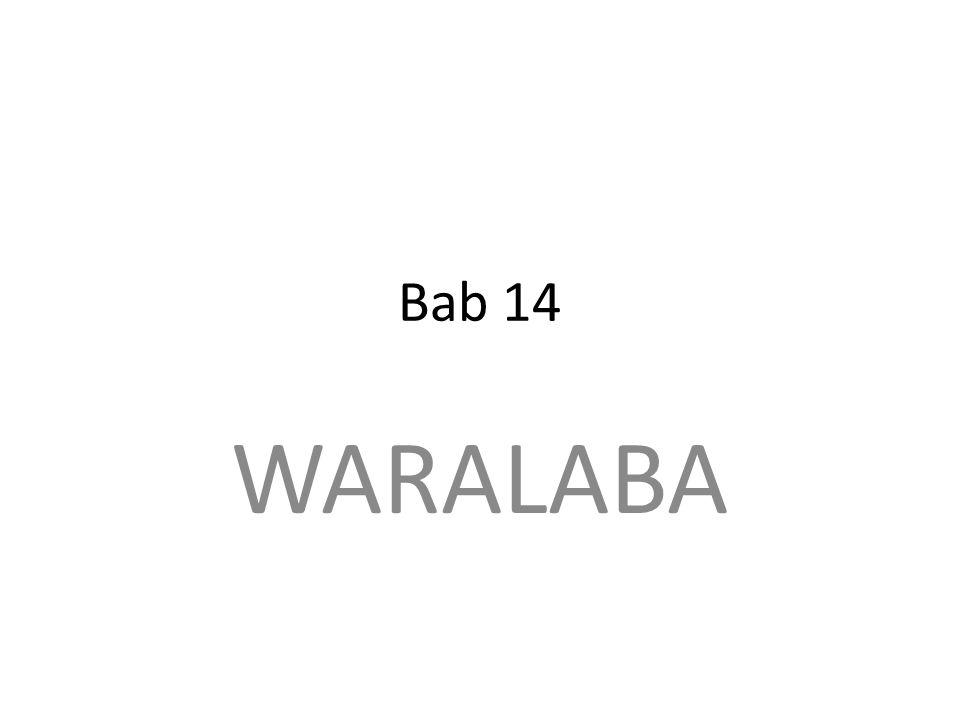 Bab 14 WARALABA