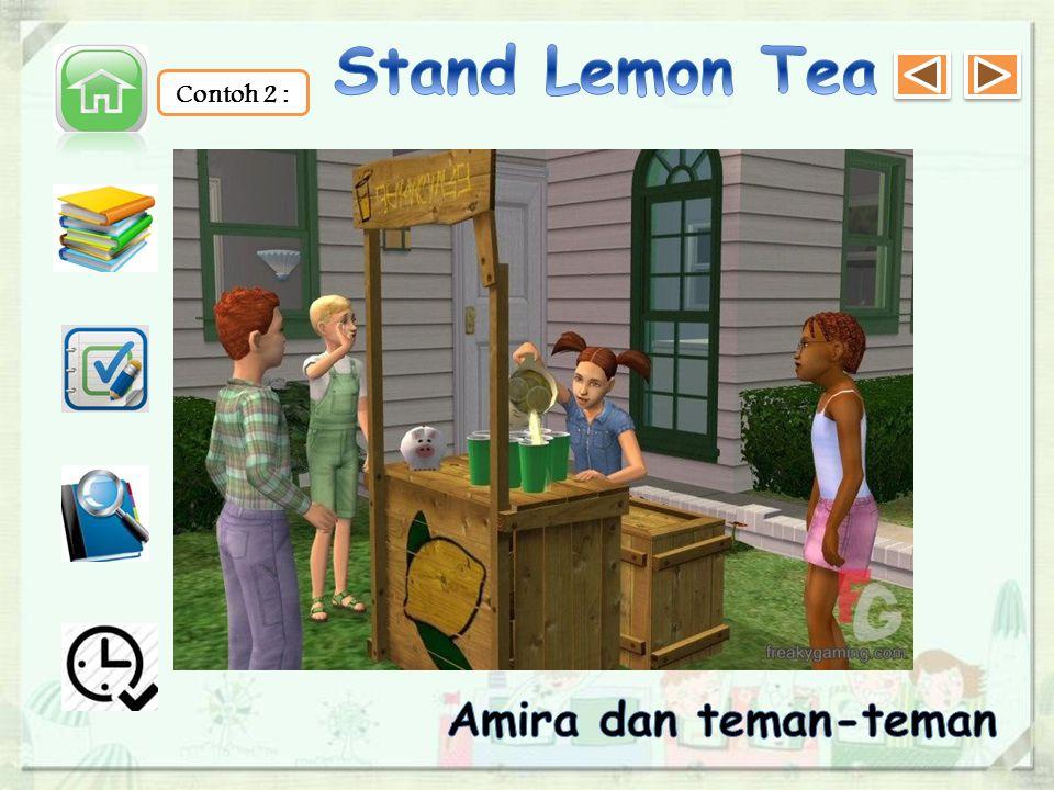 Amira dan teman-teman masih membutuhkan tambahan dana untuk kegiatan PENSI.
