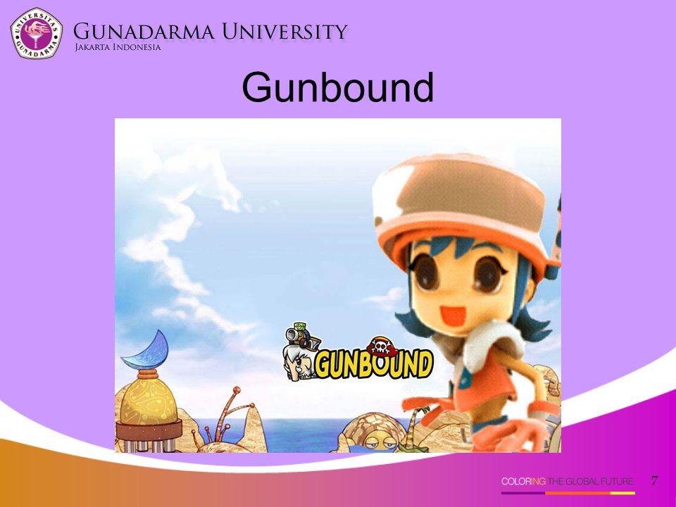 Gunbound adalah sebuah multiplayer game online yang konsep utamanya adalah pertarungan antara pemain satu dengan pemain lainnya dengan menggunakan kendaraan yang disediakan.