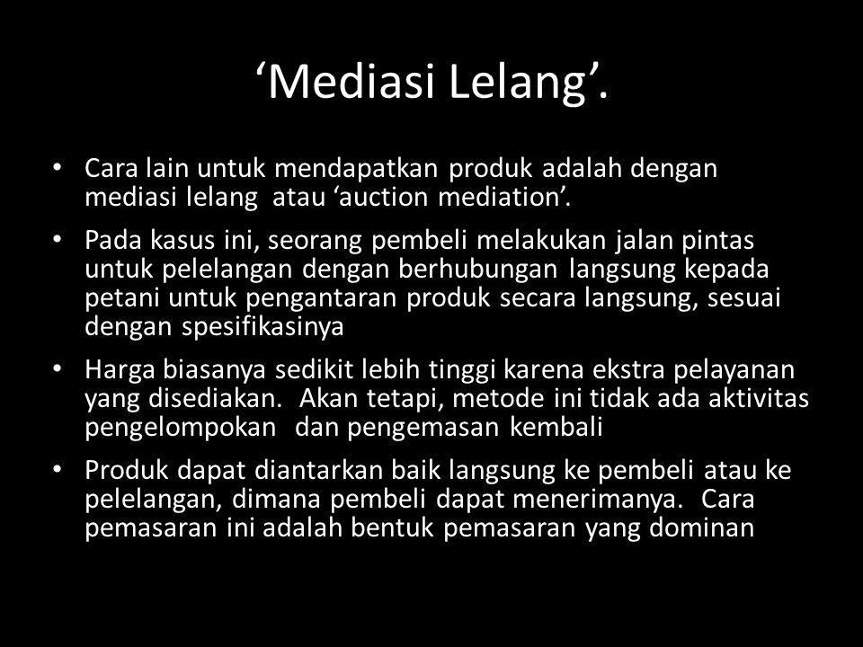 'Mediasi Lelang'.