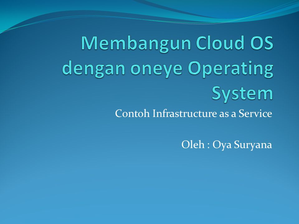 System Requirement  Web Server Apache2  Database Server sqlite3  Modul php5-imap  Modul php5-sqlite  Oneye Operating System