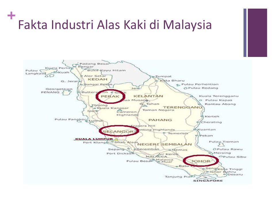 + Fakta Industri Alas Kaki di Malaysia