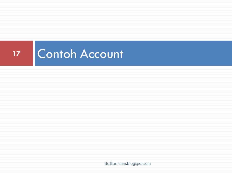 Contoh Account 17 daftarmmm.blogspot.com