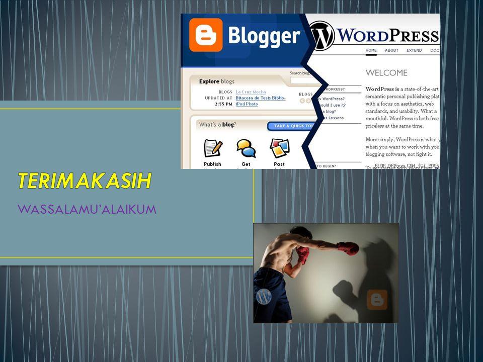 • Apabila Anda telah mempunyai domain dan hosting sendiri software WordPress telah tersedia dan siap diinstall di cpanel Anda.
