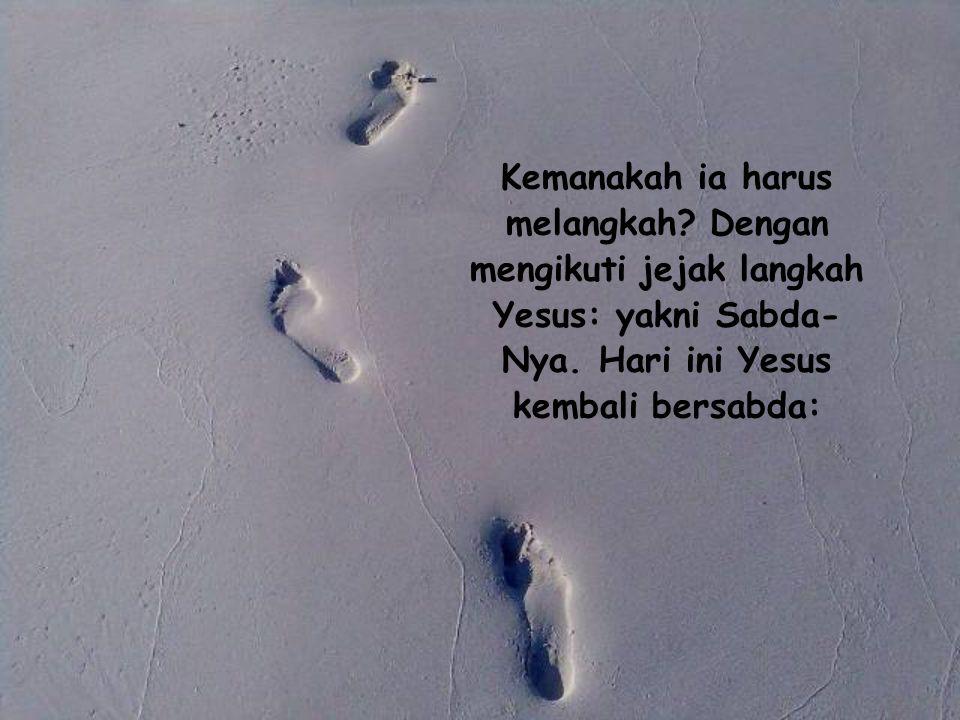 Bagi seorang kristen, dunia bagaikan semak belukar yang penuh duri, dia harus berhati-hati melangkah.