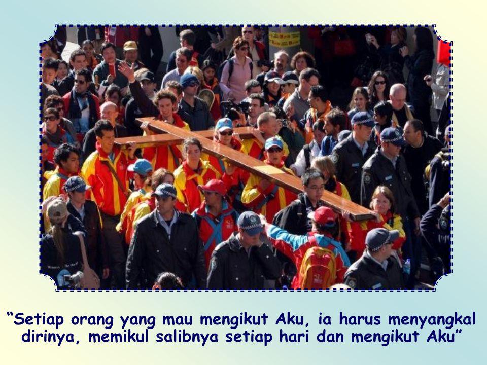 Bila kita mengikut Yesus, mungkin kita akan ditertawakan, tidak dimengerti, dicemooh, difitnah atau diasingkan. Kita harus siap kehilangan muka dan me