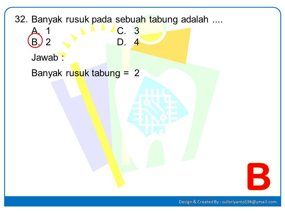A B C D E F 12 cm 9 cm BC² =CFxCA 9² = CFx15 81 = 15CF CF = 5,4 cm AE =5,4 cm Sehingga : EF =15 – 2(5,4) =15 –10,8 EF =4,2 cm