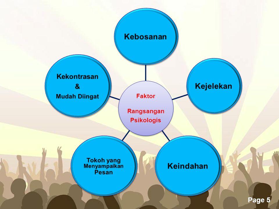 Free Powerpoint Templates Page 5 Faktor Rangsangan Psikologis
