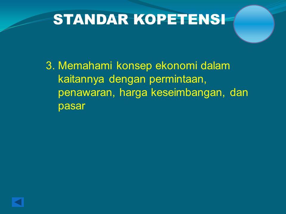 STANDAR KOPETENSI 3.