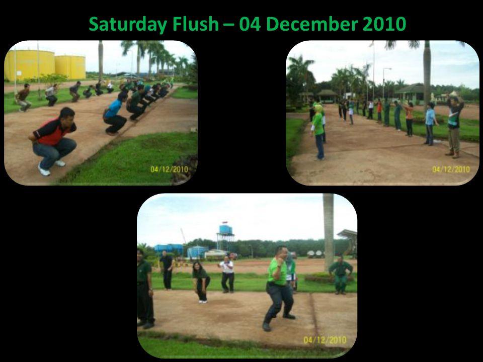 Saturday Flush – 04 December 2010