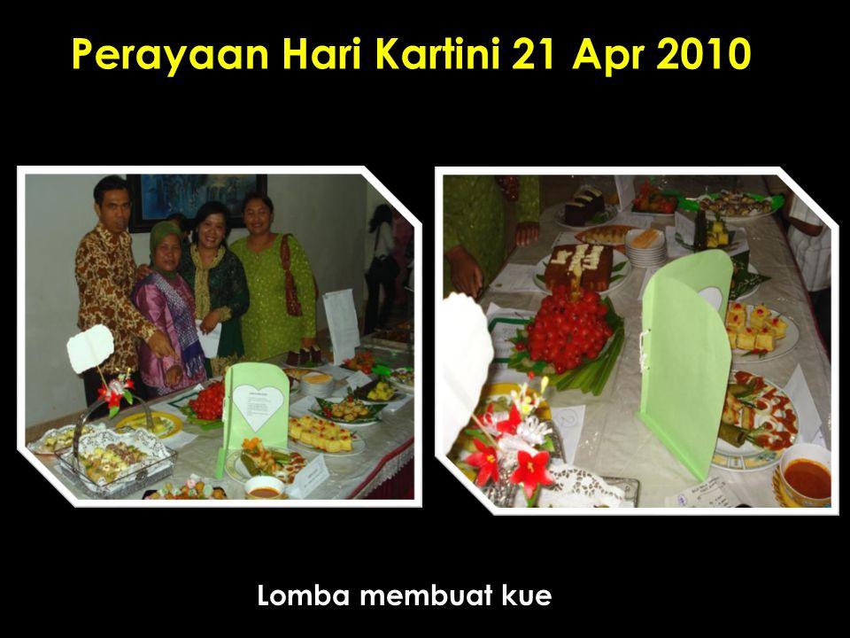 Perayaan Hari Kartini 21 Apr 2010 Lomba membuat kue