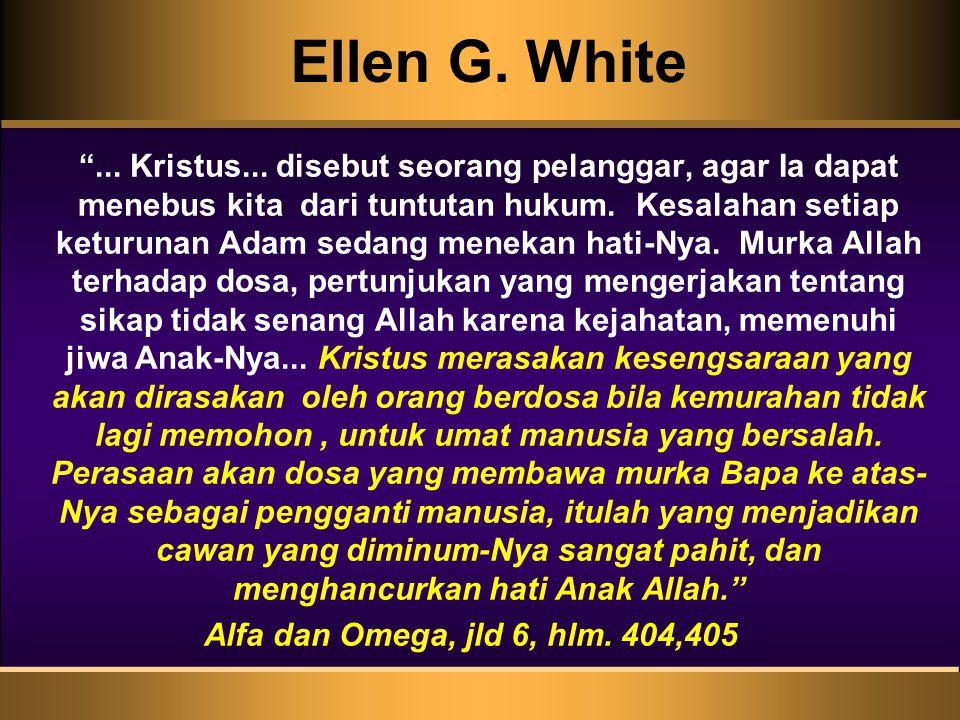Ellen G.White ... Kristus...