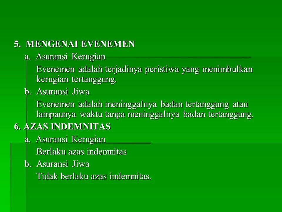 5.MENGENAI EVENEMEN a.