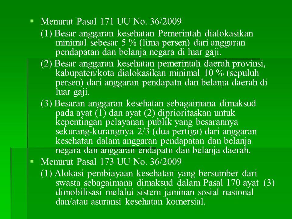   Menurut Pasal 171 UU No.