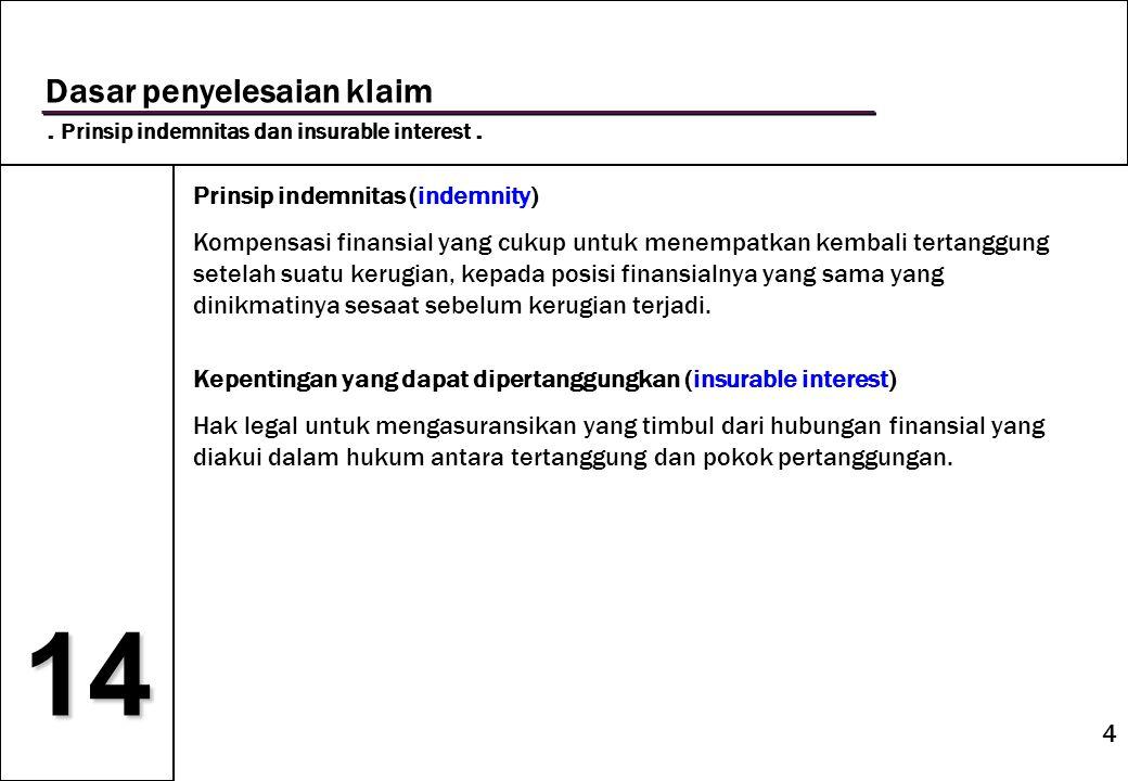 15 14 Kontribusi.Metode independent liability.