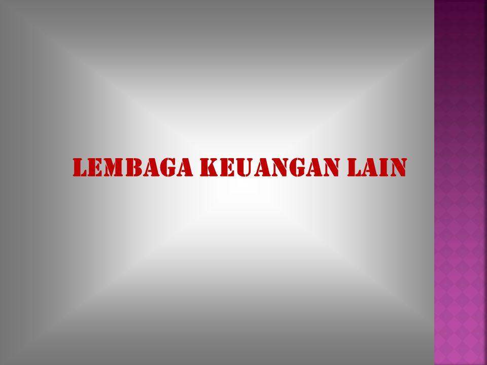LEMBAGA KEUANGAN LAIN
