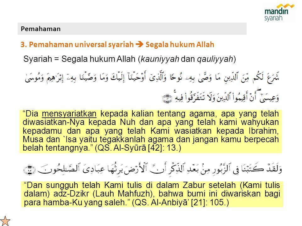 """Dia mensyariatkan kepada kalian tentang agama, apa yang telah diwasiatkan-Nya kepada Nuh dan apa yang telah kami wahyukan kepadamu dan apa yang telah"