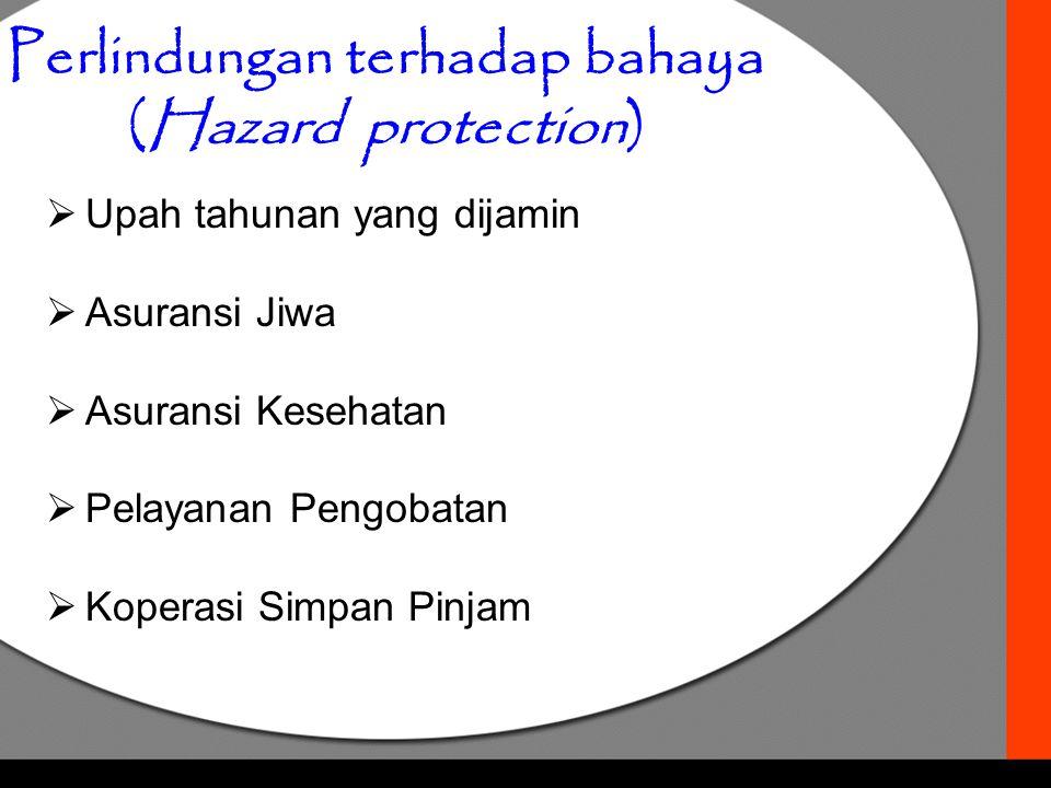 Perlindungan terhadap bahaya (Hazard protection)