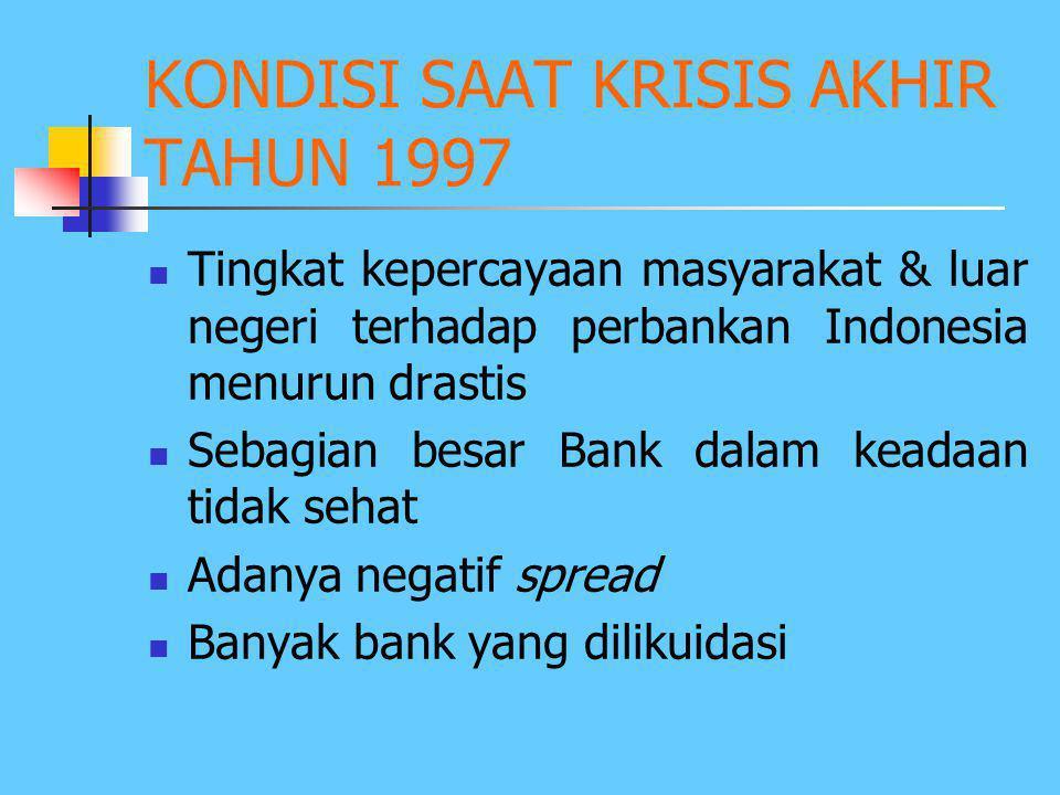 Paket 20 Desember 1988, yang berisi: 1. Aturan penyelenggaraan Bursa Efek oleh swasta 2. Alternatif sumber pembiayaan berupa: > Sewa Guna Usaha/ leasi