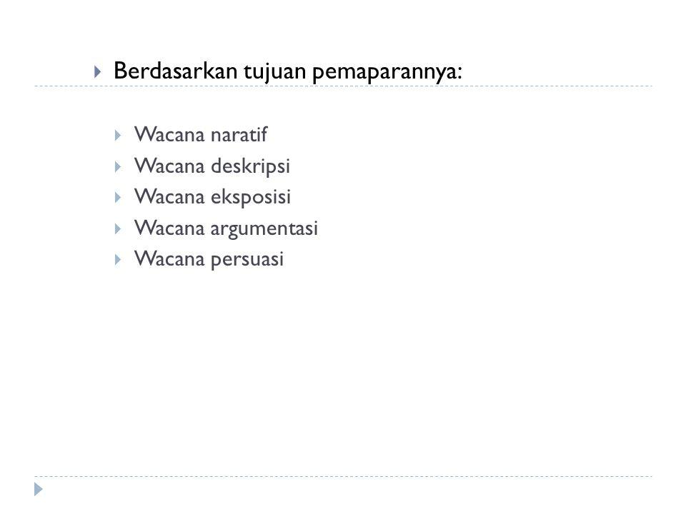  Contoh:  Bahasa Indonesia bukanlah pelajaran yang baru di jenjang perguruan tinggi.