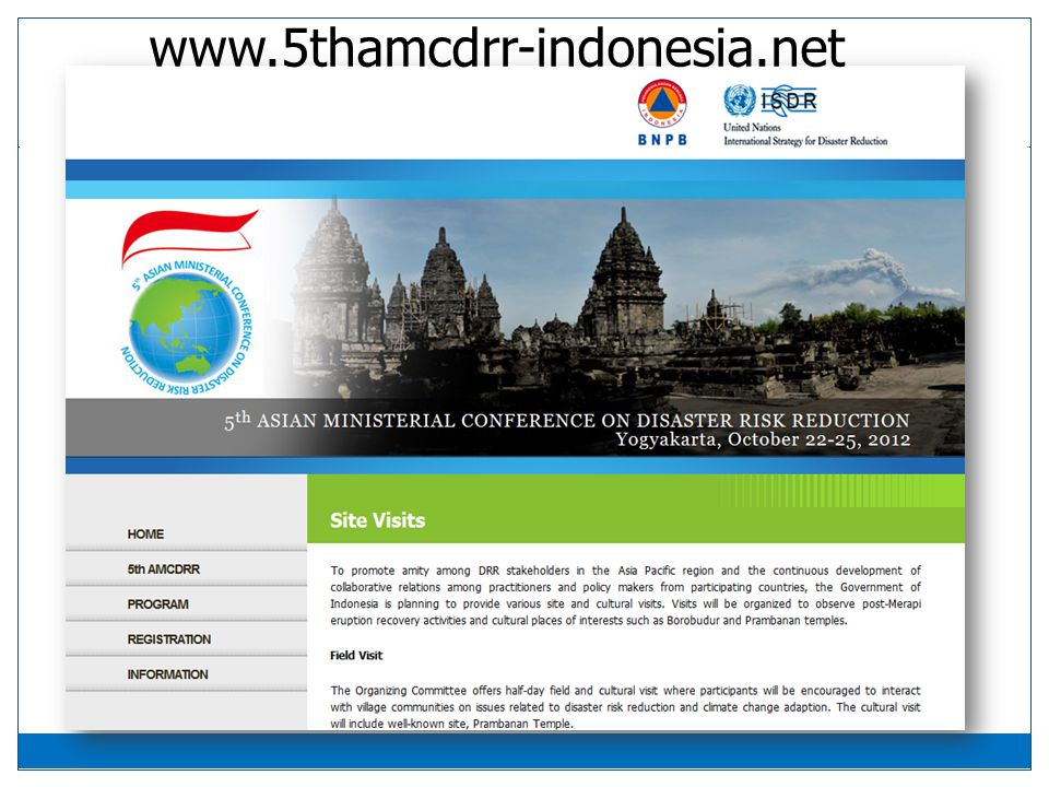 www.5thamcdrr-indonesia.net
