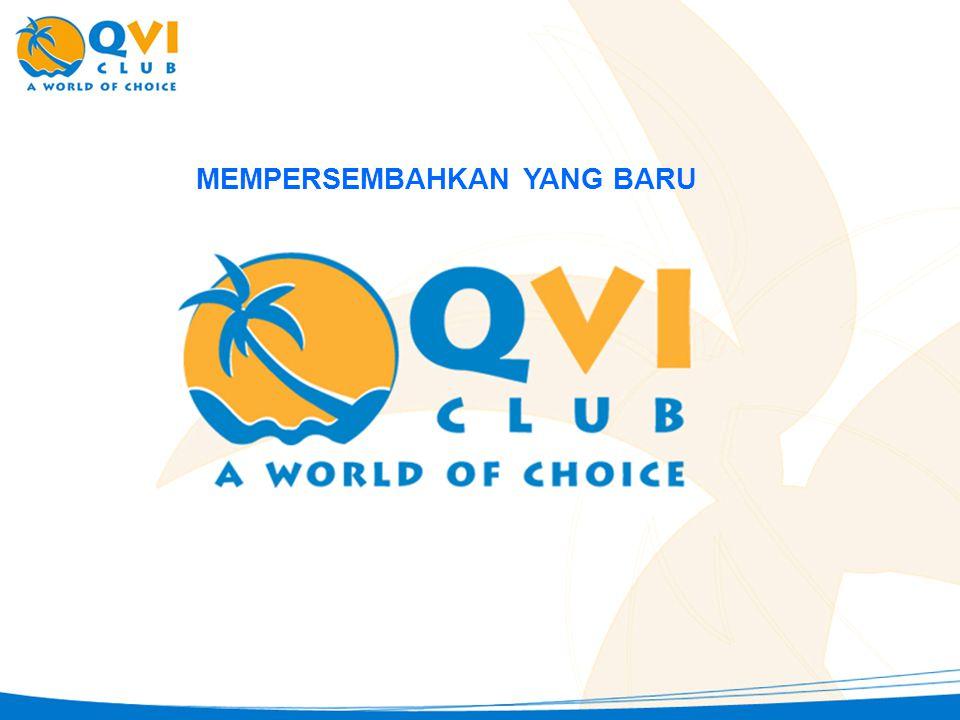 QVI Club 3-Tahun dari Sekarang •Q•QVI Resort Boutique – 7 multi-tujuan •Q•QVI City Boutique – 5 multi-tujuan untuk berbagai pilihan kesenangan Anda !!