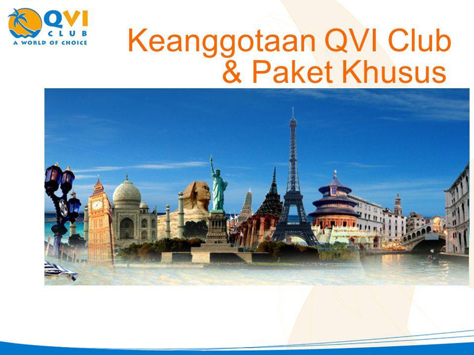 Keanggotaan QVI Club & Paket Khusus