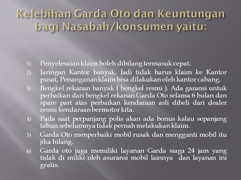 Sejarah Berdiri  Asuransi Garda Oto merupakan salah satu produk unggulan dari Asuransi Astra Buana yang diluncurkan pada tahun 1995 didirikan di jakarta.