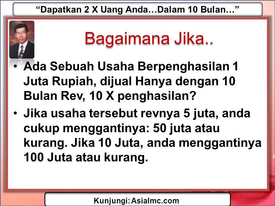 Dapatkan 2 X Uang Anda…Dalam 10 Bulan… Kunjungi: AsiaImc.com Pernah Datang Ke Lelang.