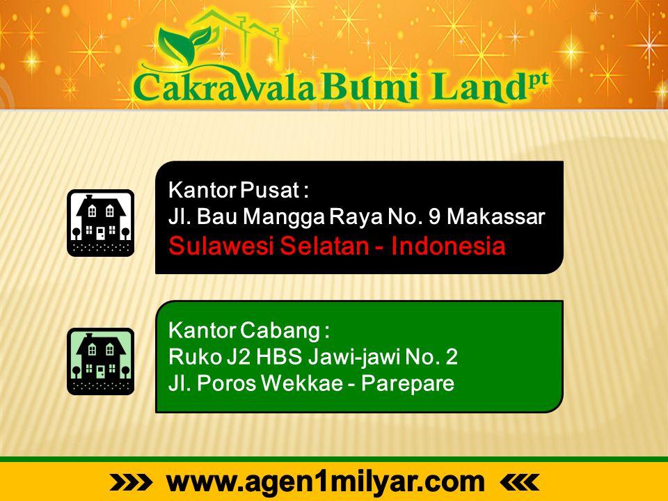 Kantor Pusat : Jl. Bau Mangga Raya No. 9 Makassar Sulawesi Selatan - Indonesia Kantor Cabang : Ruko J2 HBS Jawi-jawi No. 2 Jl. Poros Wekkae - Parepare