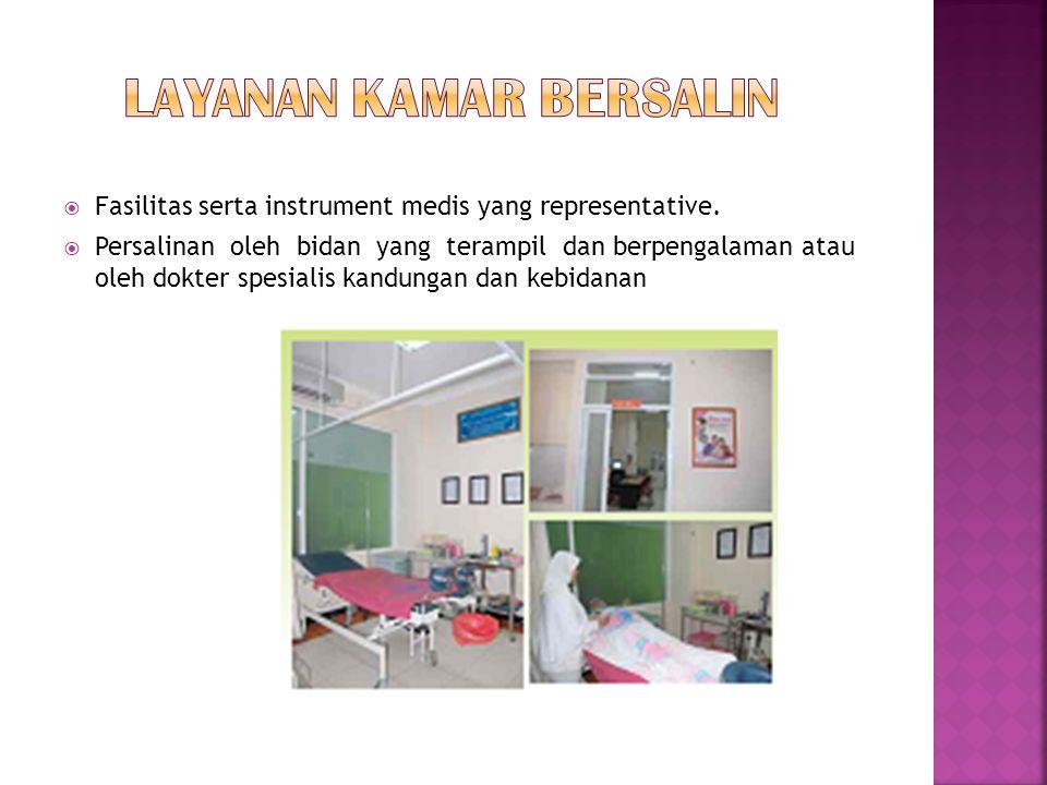 Ruang perawatan khusus Ruang ICU/ICCU Ruang Isolasi Ruang Anak Ruang Nifas Ruang Bayi Intensive Ruang Batita Ruang Perinatologi Recovery Room