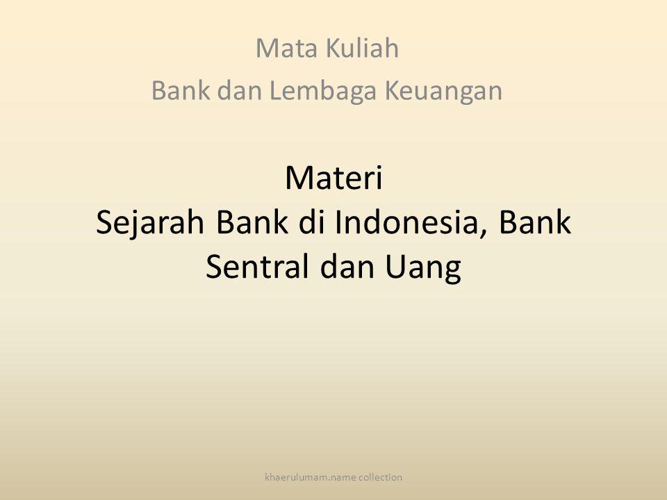 Lanjutan 6.Kesulitan muncul bank baru.7.Persaingan antar bank yang tidak ketat.