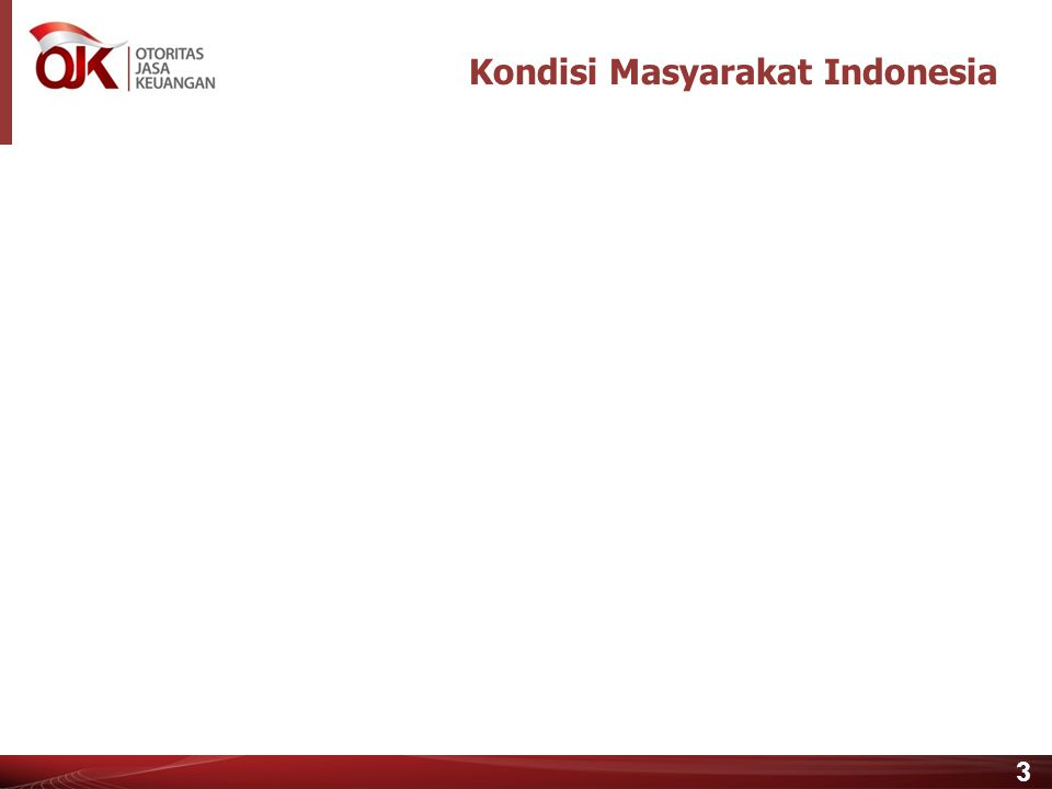 2 Agenda Strategi Nasional Literasi Keuangan 2 2 Peran Layanan Keuangan Digital 3 3 2 Kondisi Masyarakat Indonesia 1 1