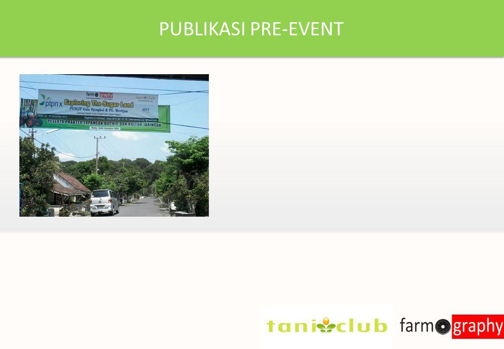 PUBLIKASI PRE-EVENT