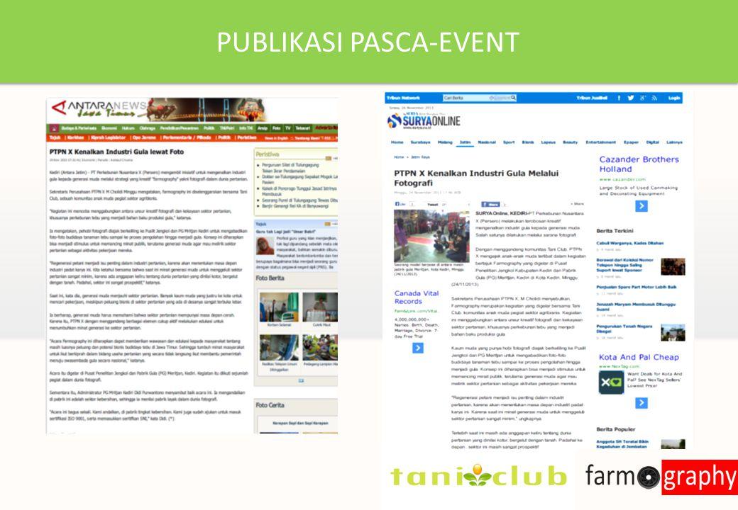 PUBLIKASI PASCA-EVENT