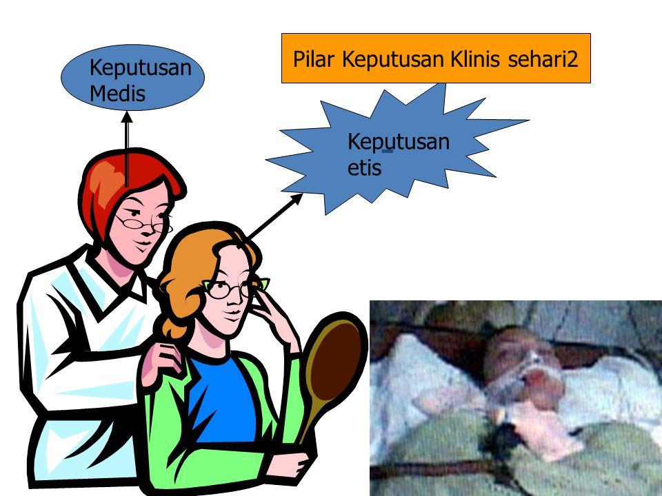 - Keputusan Medis Keputusan etis Pilar Keputusan Klinis sehari2