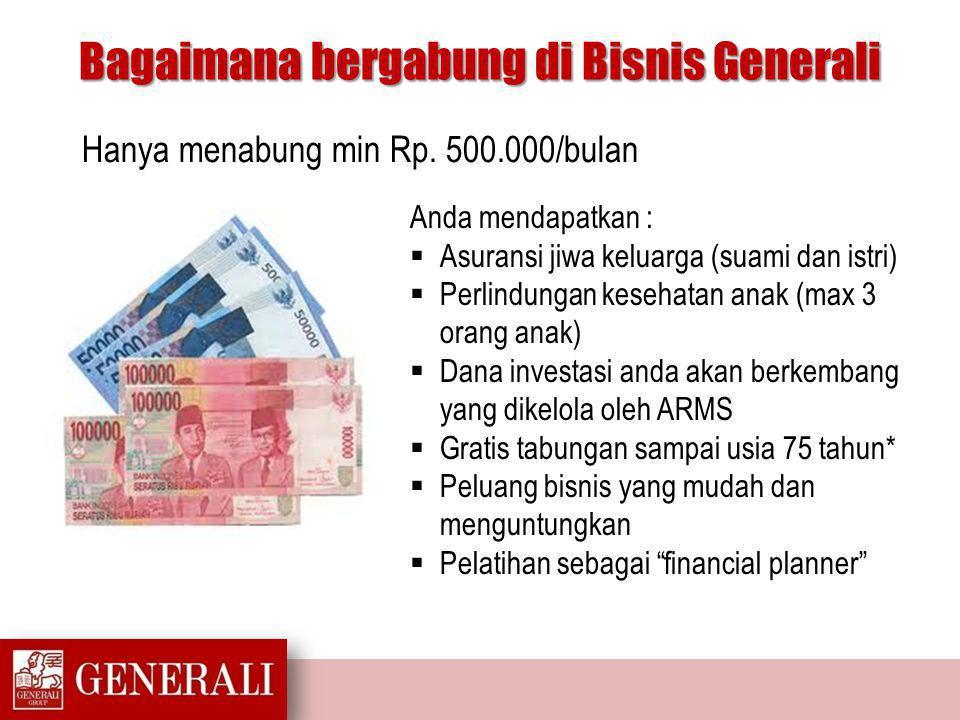 PT.Asuransi Jiwa Generali Indonesia Cyber 2 Tower – 30th Floor Jl.