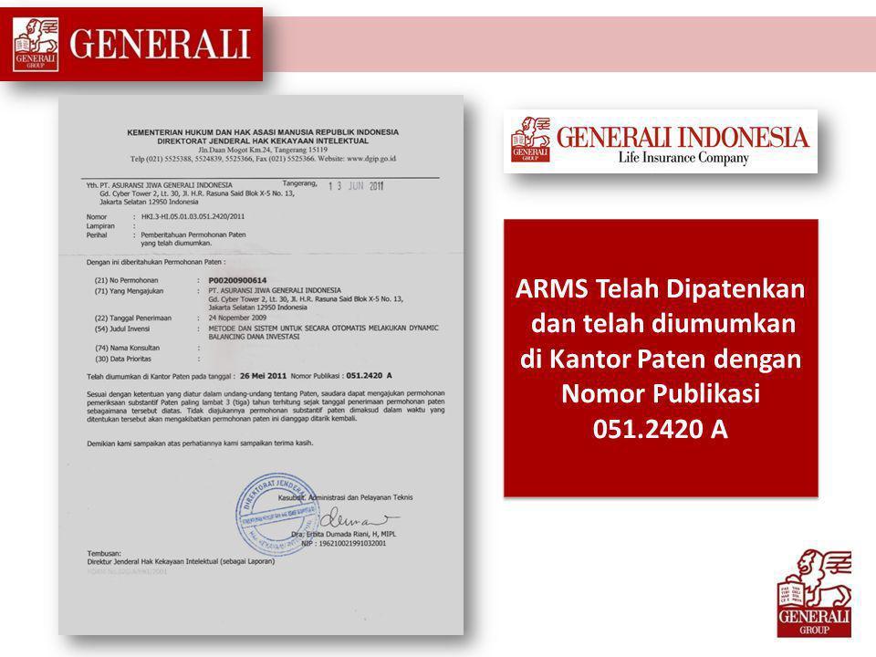 ( A uto R isk M anagement S ystem) satu-satunya di Indonesia
