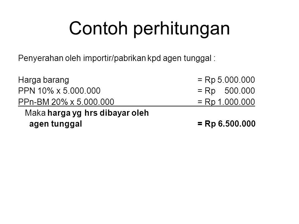 •Dlm hal impor Barang Kena Pajak yg menjadi dasar pengenaan pajak adalah nilai impor. •Nilai impor adalah nilai berupa uang yg menjadi dasar perhitung