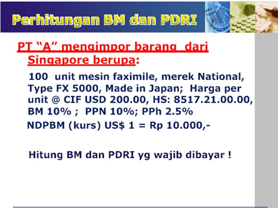 V. BIAYA JASA LAINNYA 1)Biaya administrasi / komisi importir = Rp … 2)Provisi bank, biaya L/C, negosiasi dll= Rp … 3)Bunga bank untuk ubtuk … bulan …