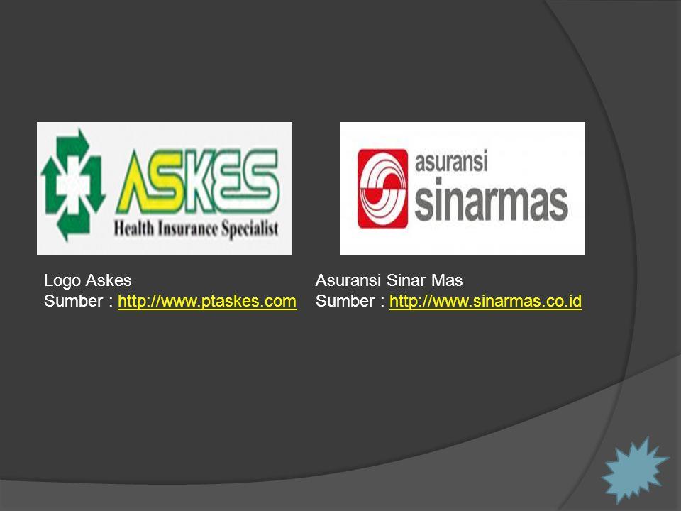 Logo Askes Sumber : http://www.ptaskes.comhttp://www.ptaskes.com Asuransi Sinar Mas Sumber : http://www.sinarmas.co.idhttp://www.sinarmas.co.id