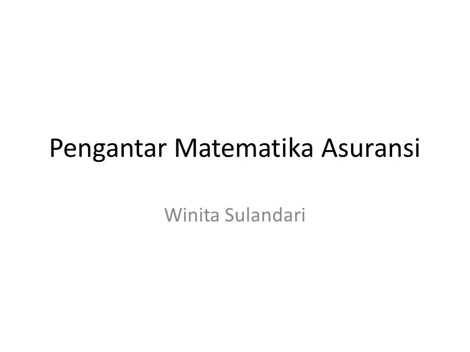 What is insurance mathematics.