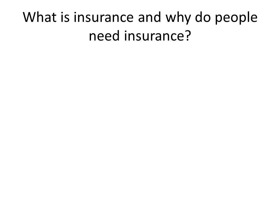 Asuransi • Asuransi adalah sebuah sistem untuk merendahkan kehilangan finansial dengan menyalurkan resiko kehilangan dari seseorang atau badan ke lainnya.